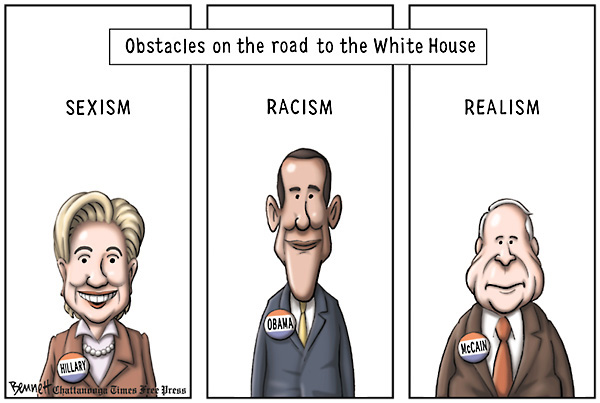 Clay Bennett; Obstacles on the road to the White House