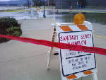 Sewage flows into Tennessee River after power failure