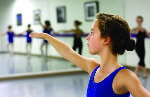 Young ballerina pursues her passion on and offstage