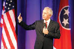 Corker pushes for limits on rising debt