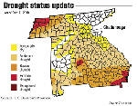 Area drought conditions retreat for winter
