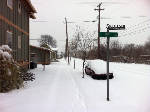 Snowfall is the biggest since '93 blizzard