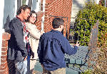 First shots filmed at Rossville 'Extreme Makeover' house