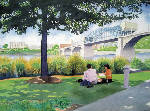 Tennessee Watercolor Society members exhibit in Cleveland