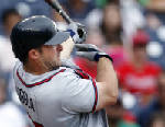 Uggla leads Braves to 6-4 win over Nationals
