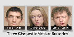 Two Walker men and a woman arrested, charged in vehicle break-ins