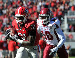 Georgia freshman Chris Conley making up for lost time at receiver