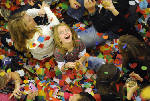 Children get early start to New Year celebration