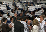Mitt Romney sweeps New Hampshire to cement top status; Ron Paul second