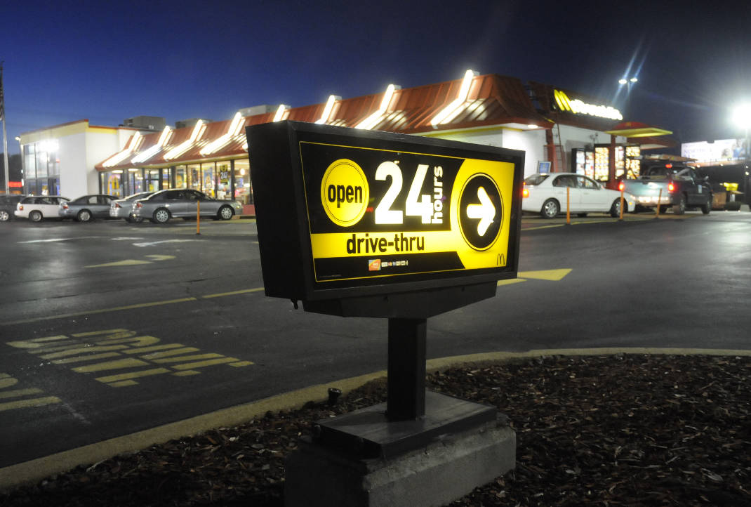 Chattanooga Fast Food Restaurant Expanding To 24 Hour