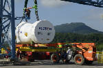 Alstom ships first ever Chattanooga-built gas turbine to Mexico