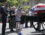 Hundreds honor Cleveland police officer at funeral (video included)