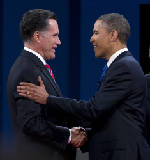 Final presidential debate: Challenging each other face to face