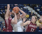 UTC's Lady Mocs lose big lead but top College of Charleston's Cougars