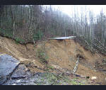 Snow coming to Smokies where landslide broke road