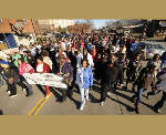Day of diversity: Hundreds turn out for M.L King Jr. Memorial March