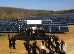 Volkswagen turns on Tennessee's largest solar park in Chattanooga