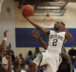 Notre Dame's Stedmon Ford  going to Lee University