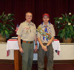 Good for you: Trey Davis, Nathan Goza become Eagle Scouts