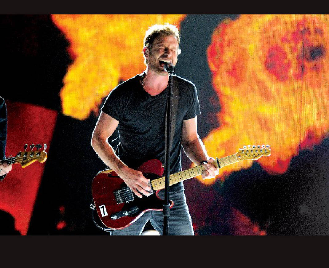 Bent On Country Dierks Bentley Has History In Chattanooga Chattanooga Times Free Press
