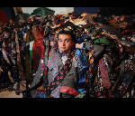 The tie guy: Alex Bennett claims to have the world's largest tie collection
