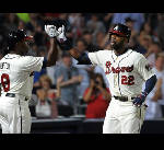 Jason Heyward's homer helps Braves sweep Cardinals, 5-2