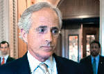 Corker stays in D.C. for Senate business today, but keeps talking with White House on budget deal