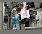 President Obama tours Amazon in Chattanooga as officials prepare to increase workforce