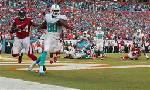 Tannehill leads Dolphins past Falcons 27-23