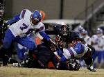 Rebels rout Cleveland Blue Raiders in 5A state semifinal