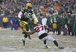 Packers end 5-game slide, beat Falcons 22-21
