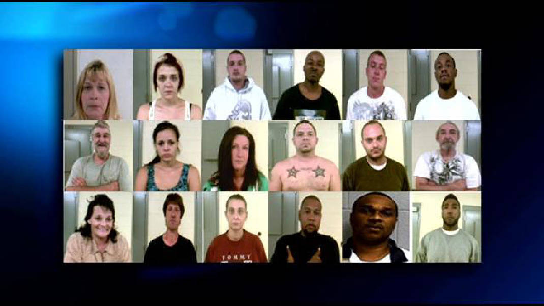 Marion County authorities arrest 19 of 24 wanted for drug crimes