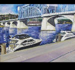 Meeting to make art: Exhibit features works by North River classmates