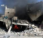 Government airstrikes kill at least 32 in Syria