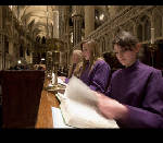 1,000 years on, girls sing at Canterbury Cathedral