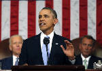 State of the Union address: Barack Obama vows to flex presidential powers