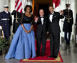 White House state dinner for President Francois has French twist