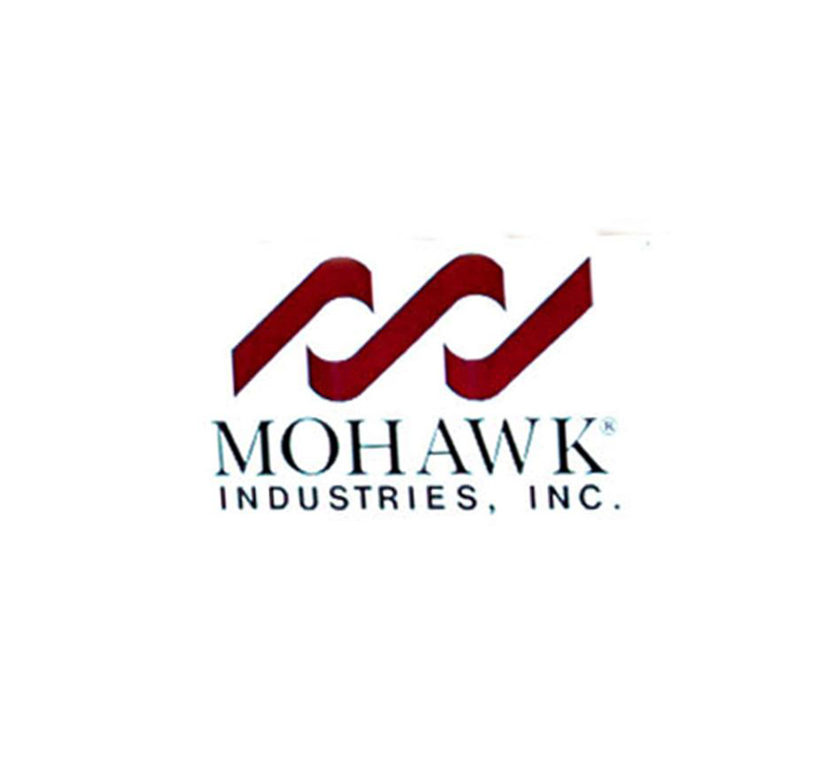 Improving market acquisitions booost mohawk sales for Mohawk carpet logo