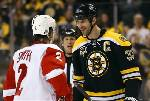 Bruins top Red Wings 4-1, even series at 1-1
