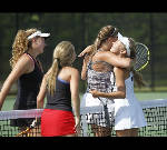 Morgan, Caswell earn state doubles title