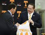 Coach Donnie Tyndall's UT Vols to open against VCU at Navy