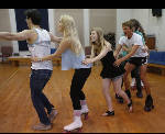 Producing the play 'Xanadu' fast is not for the fainthearted, when roller skates are involved (with video)
