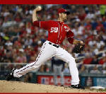 Fister outduels Teheran, Nationals top Braves 3-0