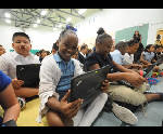 Computers for all: East Lake, Shepherd students gifted with Chromebooks
