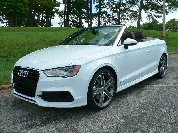 test drive audi a3 cabriolet a drop top dynamo. Black Bedroom Furniture Sets. Home Design Ideas
