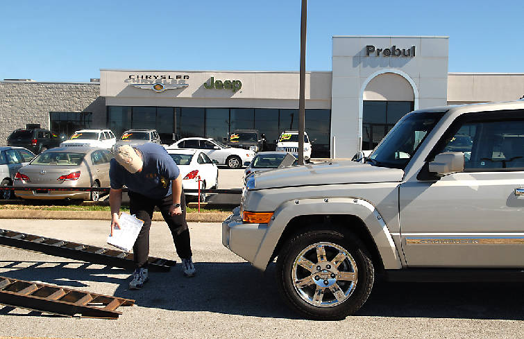 Awesome Staff Photo By John Rawlston Joel Sutton Picks Up A Jeep At The Prebul  Dealership On Chapman Road On Thursday To Deliver It To A Car Dealership In  Georgia ...