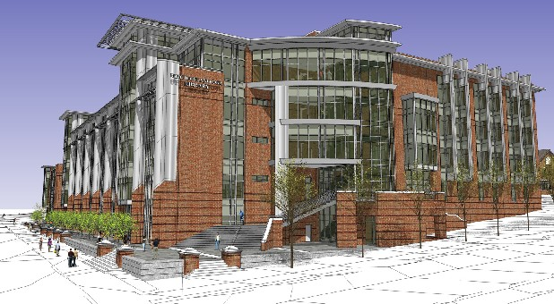 rendering of the new UTC library