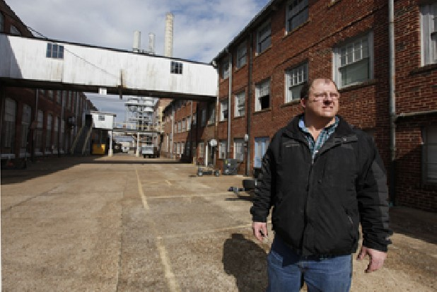 Les Coffey, owner of the Peerless Mill in Rossville, speaks about how he has recently requested a permit to demolish the 85-year old mill.