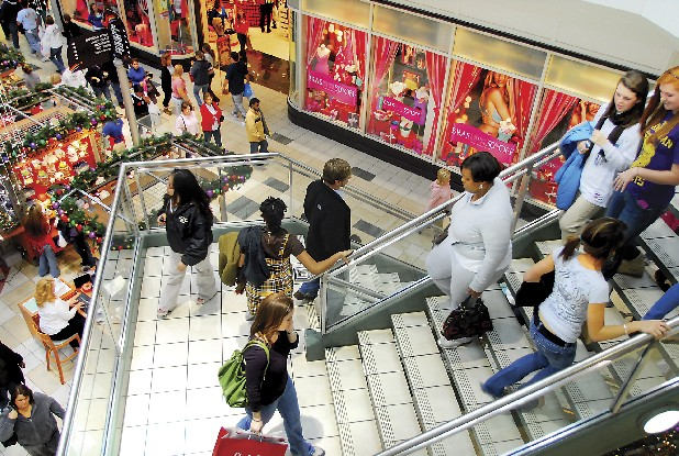 Shoppers at Hamilton Place mall can find more than 200 stores. Staff File Photo