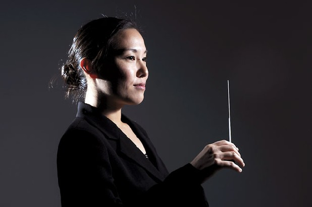 Kayoko Dan will be the new Chattanooga Symphony Orchestra conductor. Staff Photo by Angela Lewis/Chattanooga Times Free Press